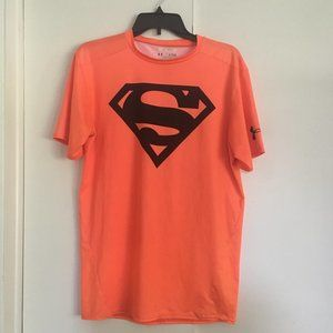 Superman Under Armor Sports T-Shirt